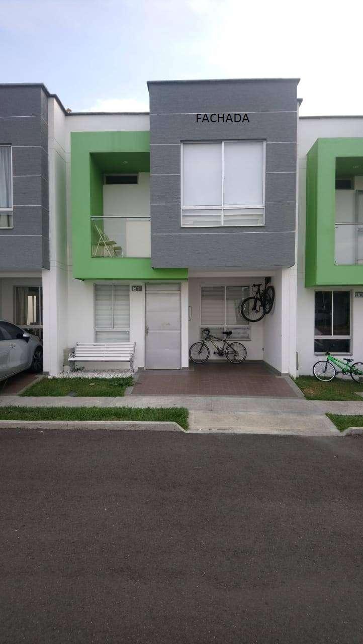vendo casa en conjunto Rio Claro. 3 años de construcción 0