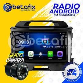 RADIO ANDROID PARA KIA SPORTAGE R 2010/20 GPS BT USB WIFI BETAFIX DESDE