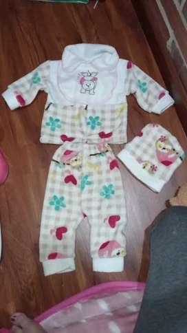 Pijama térmica para bebe