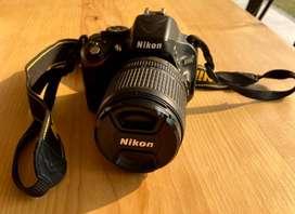 Cámara Nikon D5100 Kit lente Nikon 18-105mm f5