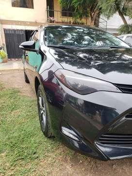 Toyota Corolla 2017 negro