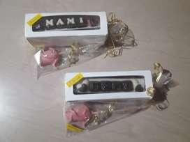 Cajas bombones chocolates, rosas, cartelito