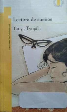 PLAN LECTOR Lectora de sueños Tanya Tynjala .Ed. Norma