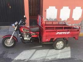 Vendo Moto carguera marca Ronco