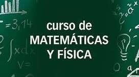 CLASES PARTICULARES DE FÍSICA Y MATEMÁTICAS. PRIMARIA Y SECUNDARIA. NIVELACIÓN Y PRUEBAS PREUNIVERSITARIAS