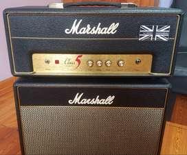 Amplificador De Guitarra Valvular Marshall Class 5.