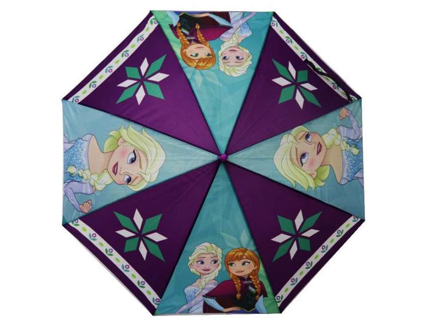 Sombrilla Frozen Niña Original Disney Resistente Calidad