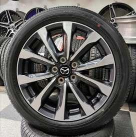 Rines 18 de la última mazda Cx3 originales, neumáticos toyo japonesas 215 45 18