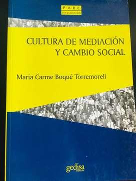 Cultura de mediación y cambio social por Boqué Torremorell