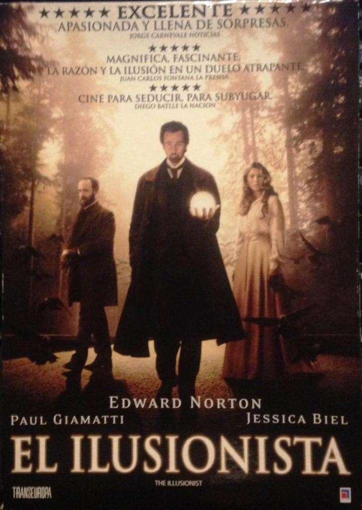 El Ilusionista - Dvd Original - Como Nuevo!!! 0