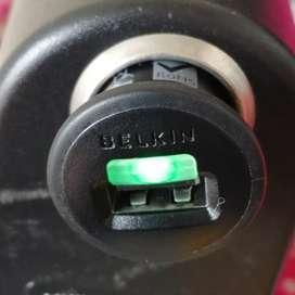 Plug in Cargador Autos Belkin 2.1 Amperios Original.