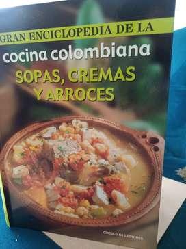 GRAN ENCICLOPEDIA DE LA COCINA COLOMBIANA (SOPAS, CREMAS Y ARROCES)