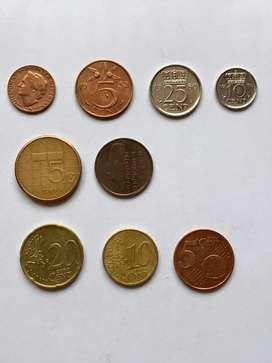 Holanda lote de monedas