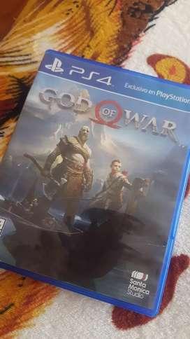 Juego de ps4 God of War 4