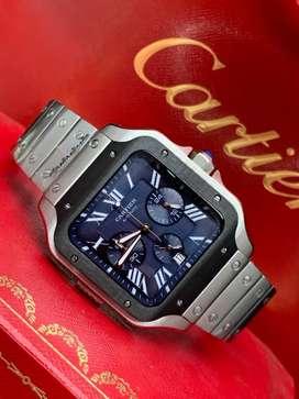 Reloj cartier automatic N• romanos caballero