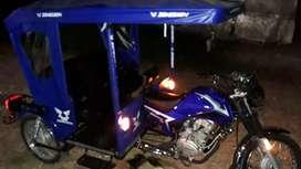 Motivo de viaje remato moto nueva