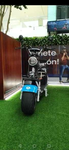 Moto full eléctrica City Coco