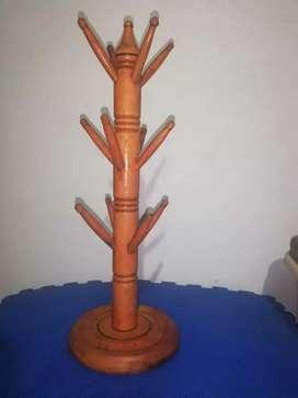 Porta vasos de madera