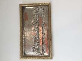 La Ultima Cena, en plata original