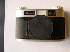 Camara Fotografica Harmony Antigua Rara Vintage Japan funciona correctamente