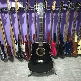 Guitarra Electroacústica 12 cuerdas Carlo Robelli New York