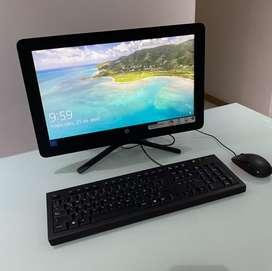 Computador todo en uno HP COMO NUEVO!
