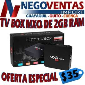 TV BOX TX9 DE 3 GIGAS DE RAM MAS 32 DE ALMACENAMIENTO SMART TV