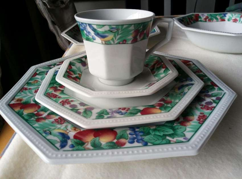 Vajilla China 0
