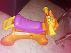 Carro infantil músical