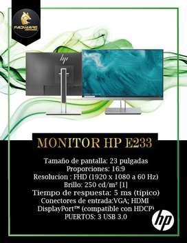 """GRAN VENTA DE MONITORES HP E233 23"""""""