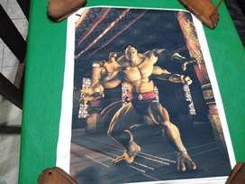 Poster Goro Mortal Kombat 50 X 60 Cm