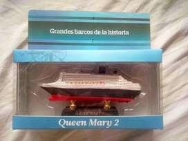 Queen Mary 2 - Colección GRANDES BARCOS DE LA HISTORIA