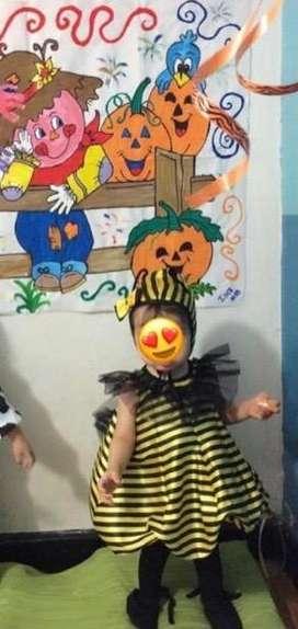 Vendo disfraz abejita niña de 1 a 2 años