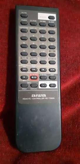 Control Remoto aiwa audio RC-TZ800