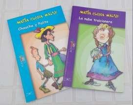 2 libros de Maria Elena Walsh