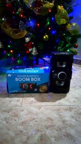 Parlante boom box bluetooth