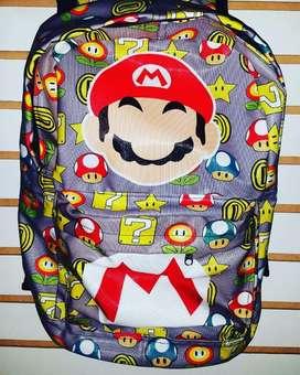 Mochila Personalizada Mario Bross