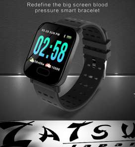 Reloj Smartwatch Deportivo Bluetooth 116 Podómetro + Pulso Adicional