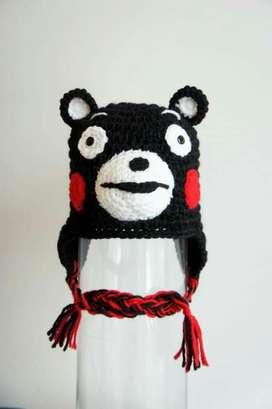 Gorra Diseño Oso Kumamon
