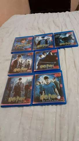 7 películas de Harry Potter en formato blu ray