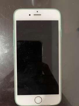 Iphone 6s color plata usado de 16 gb