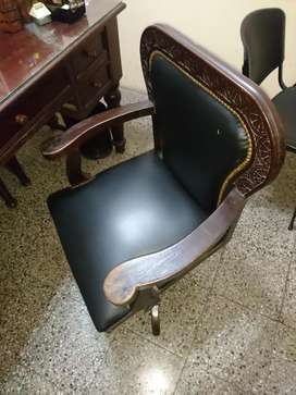 Sillon Antiguo Ingles Giratorio