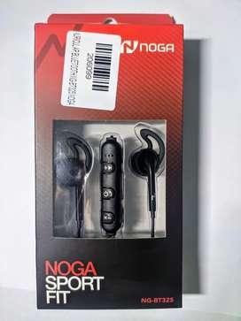 AURICULARES Bluetooth NOGA SPORT FIT
