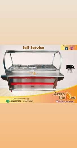 Self Service de 5 Bandejas