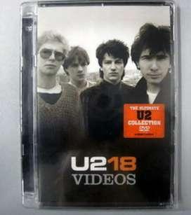 U 72 18 Videos The Ultimate U2 Coleccion DVD Video Nuevo