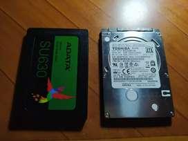 Actualización disco duro por SSD, MAS VELOCIDAD!