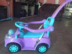 carrito buggy de niña
