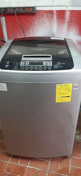 Lavadora LG 35 libras inverter.