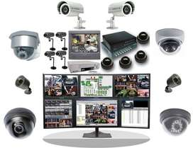 Técnicos en Soporte De cámaras de seguridad Y Computadores.