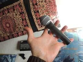 Micrófono Shure SM58 cardioide, unidireccional